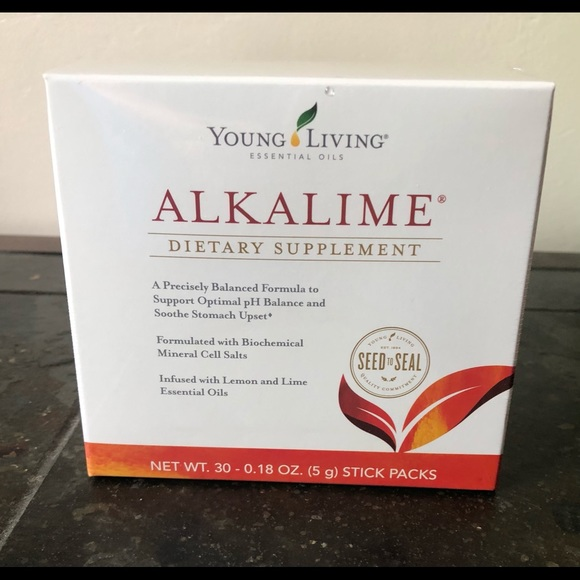 NIB Young Living Alkalime Stick Packs 30 count